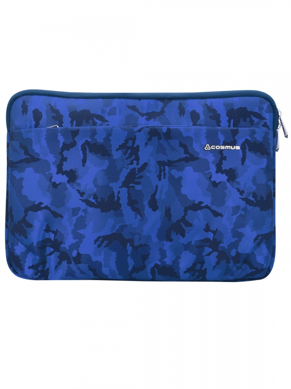 Coral laptop sleeve Navy