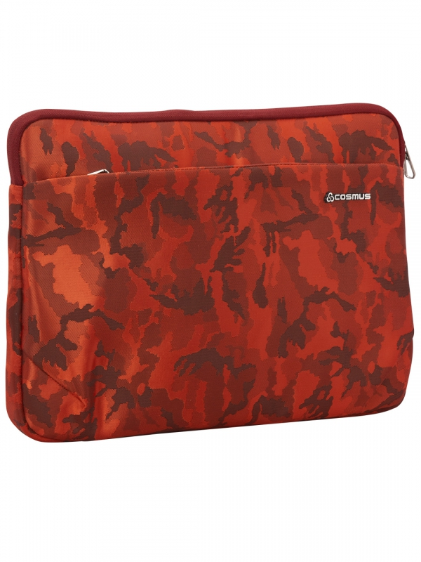 Coral laptop sleeve Maroon
