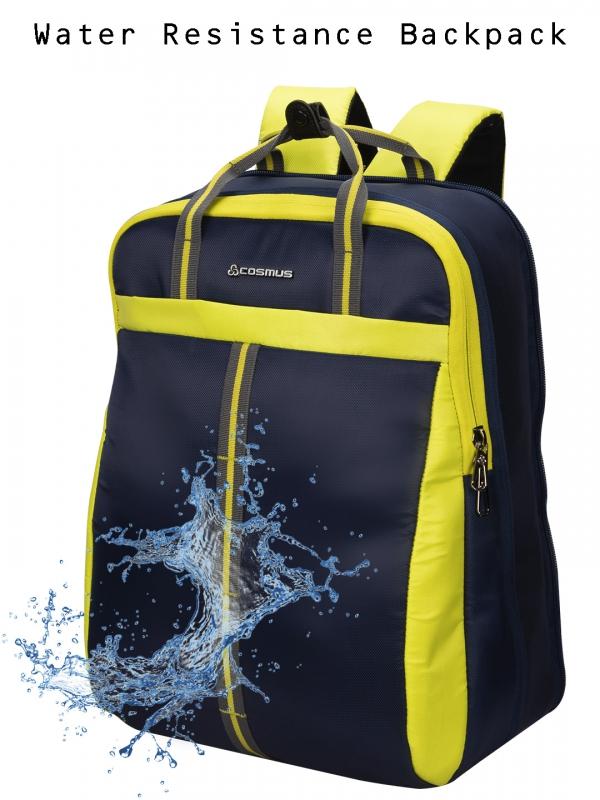 Converto Laptop Bag Navy P.Green