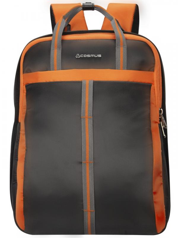 Converto Laptop Bag Grey Orange