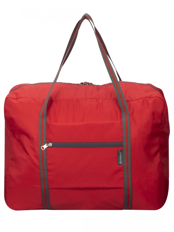 Cosmus Grove Red Travel Tote Bag