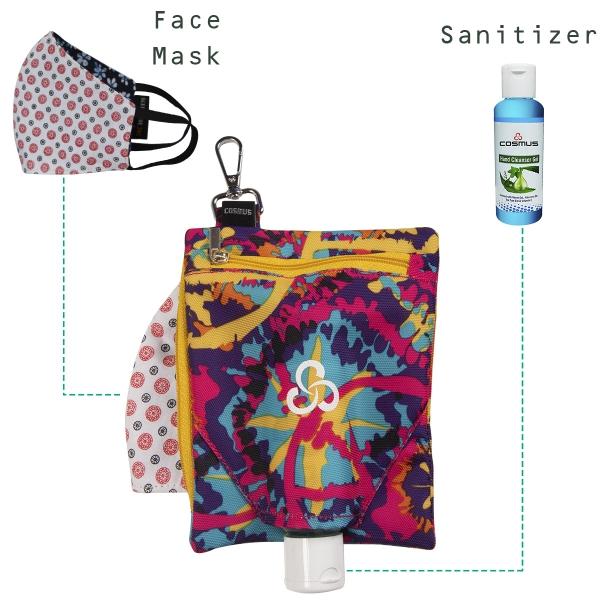 Cosmus Handlich Flower Hand sanitizer Holder Pouch