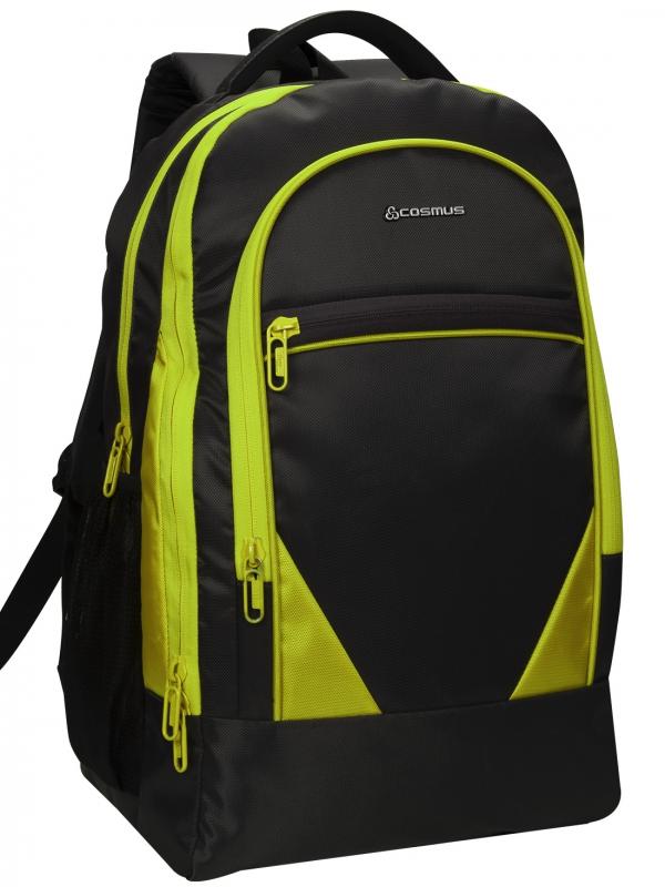 COSMUS Duke Black-Parrot Green Laptop Backpack