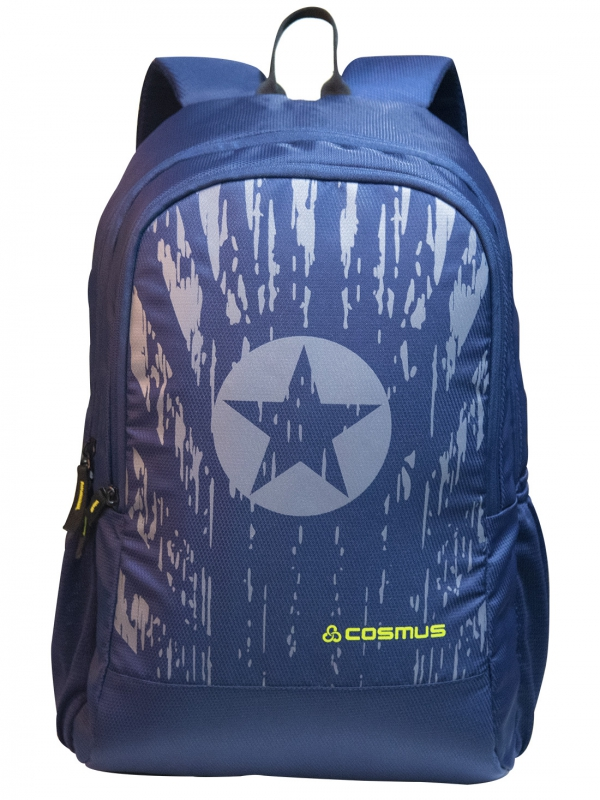 COSMUS Captain Navy Blue Laptop Backpack
