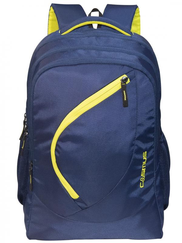 Cosmus Splendour Navy Laptop Backpack