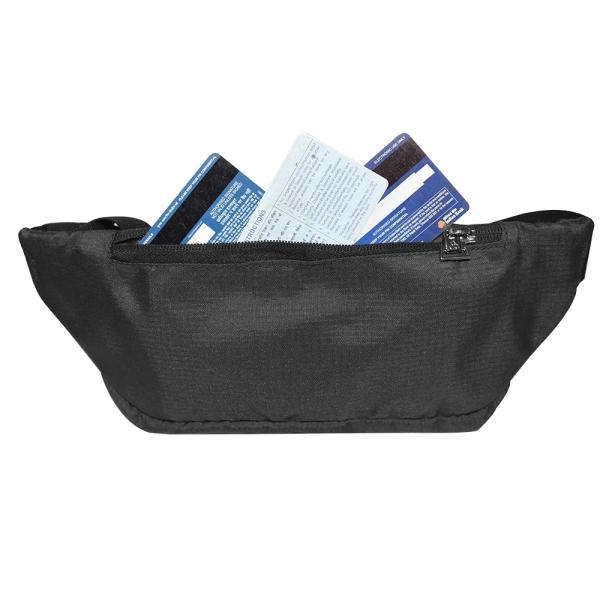 Cosmus Midriff waist pouch bag Black