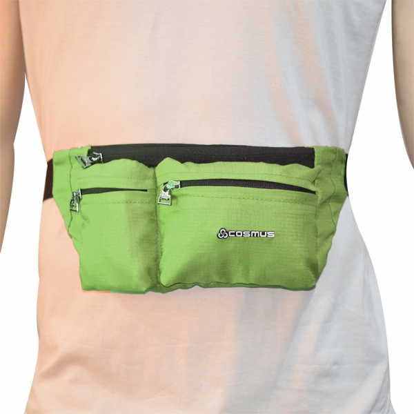 Cosmus Midriff waist pouch bag P.Green