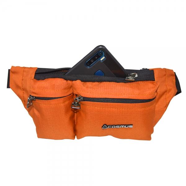Cosmus Midriff waist pouch bag Orange