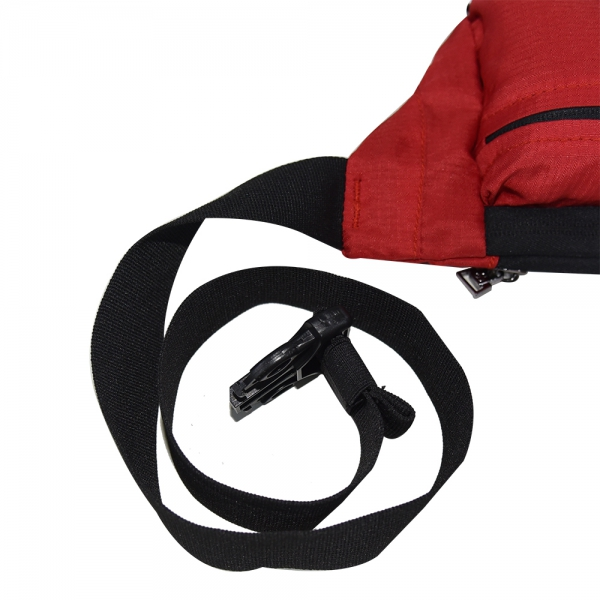 Cosmus Midriff waist pouch bag Red