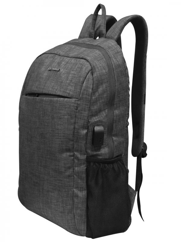 COSMUS Stunner Grey Laptop Backpack