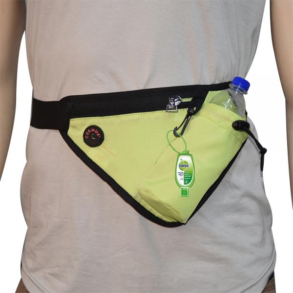 Cosmus Waist Line Waist Pouch Bag P Green