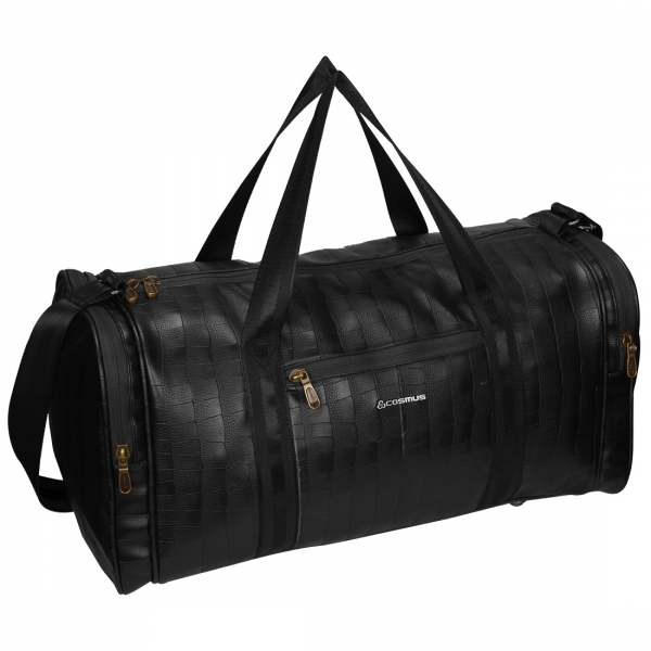 Cosmus Bermuda Black PU Stylish Cabin Duffel Bag
