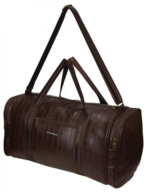 Cosmus Bermuda Brown PU Stylish Cabin Duffel Bag