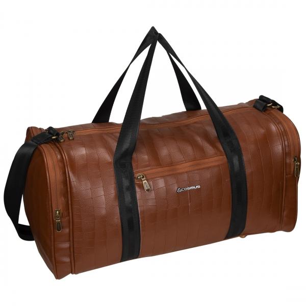 Cosmus Bermuda Tan PU Stylish Cabin Duffel Bag