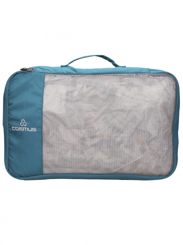Packing Cubes Travel Pouch Polyester T Green Bag Organiser  Set of 4