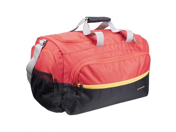 Cosmus Malta Duffle Bag Black Red