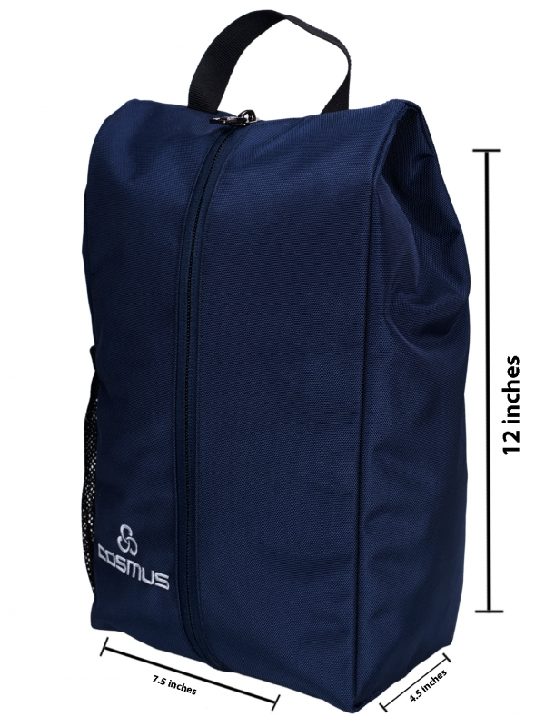 Cosmus Twinkle Navy Travel Shoe Pouch