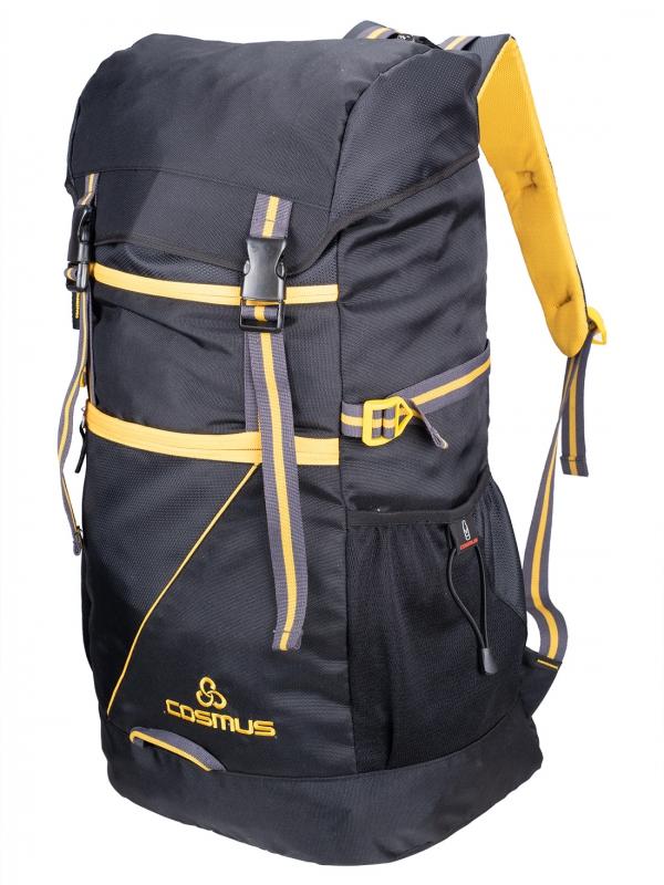 Cosmus Greece Black 47 Ltr Rucksack Backpack