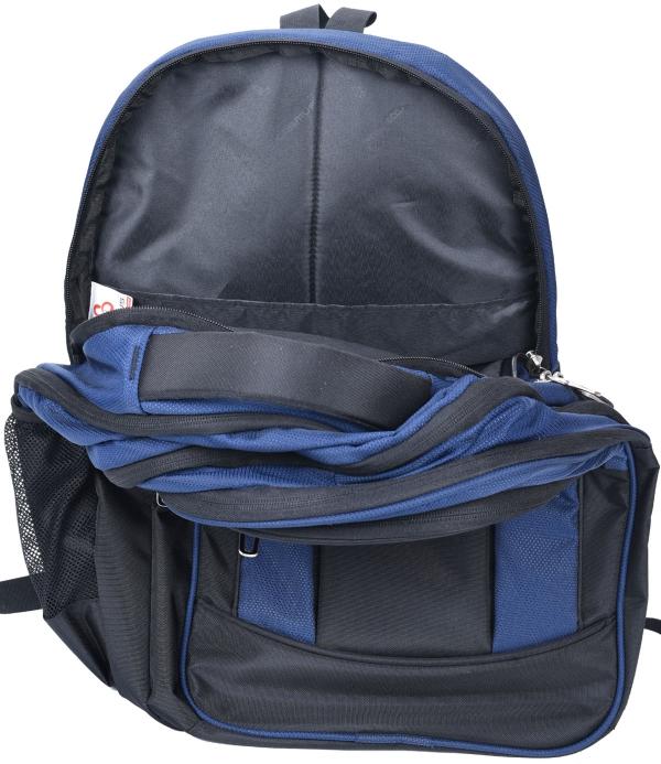Cosmus Belfast Navy Travel Backpack
