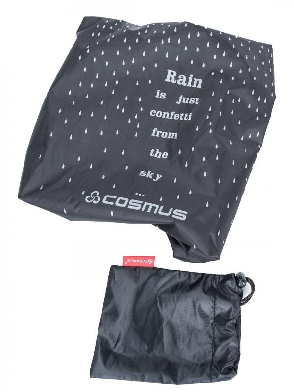 Confetti Rain & Dust Cover Black