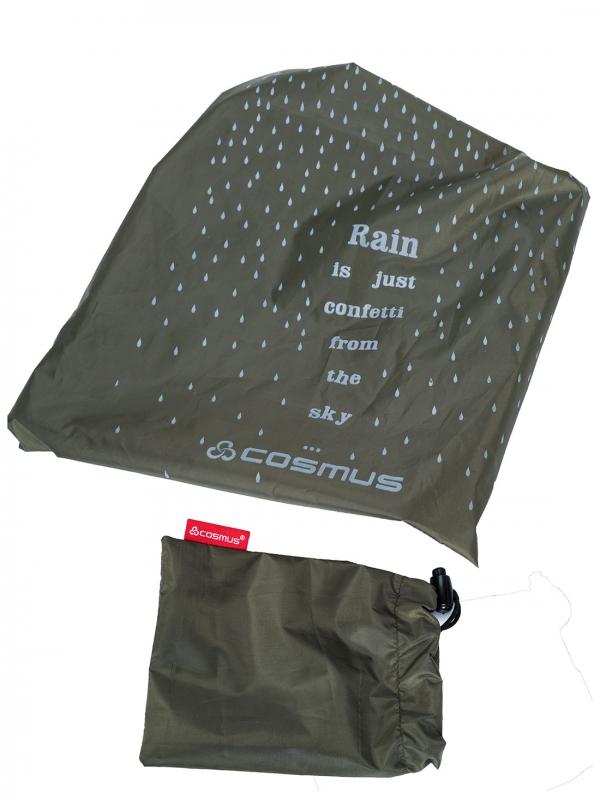 Confetti Rain & Dust Cover Bottle Green