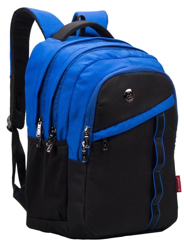 Cosmus Boston Royal Blue Laptop Backpack