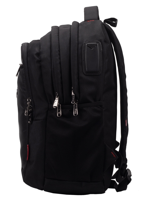 Cosmus Austin Black Laptop backpack Bag