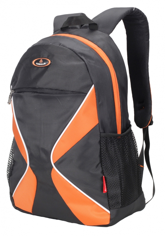 Cosmus 3D Black Casual Backpack