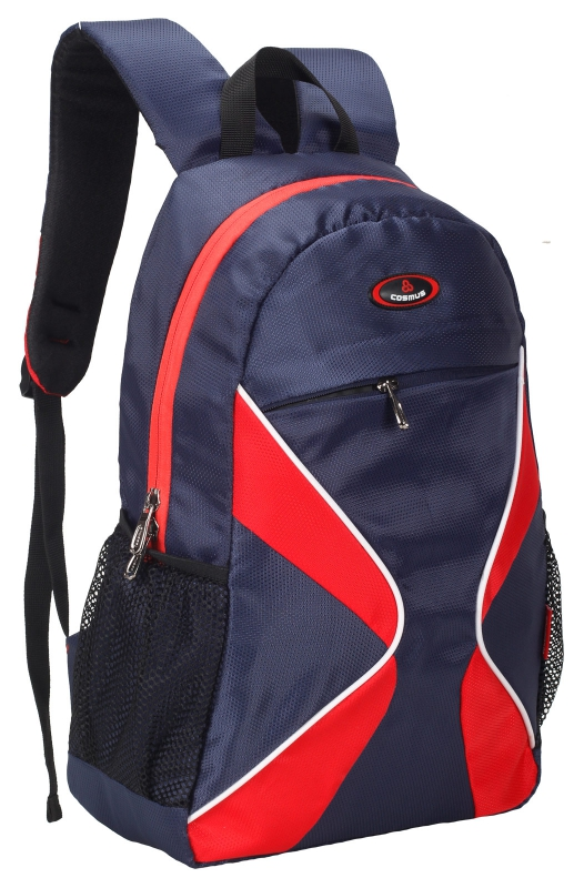 Cosmus 3D Navy Blue Casual Backpack