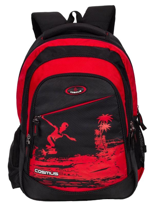 ERNEST Stylist College Backpack Bag - 29L Polyester Daypack - Black