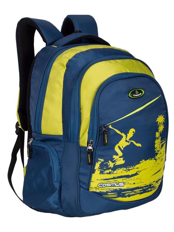 ERNEST Stylist College Backpack Bag - 29L Polyester Daypack - Navy