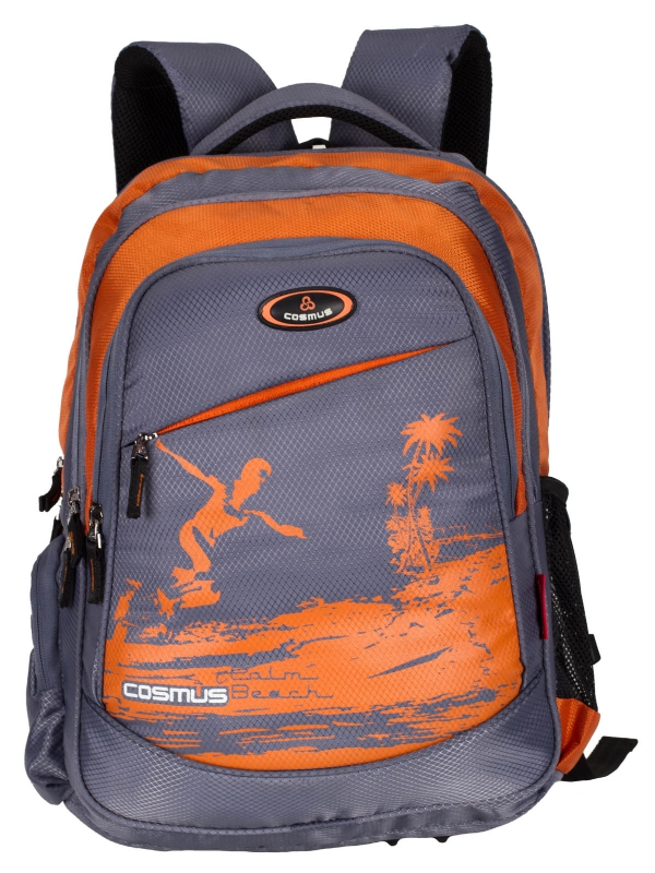 ERNEST Stylist College Backpack Bag - 29L Polyester Daypack - Grey
