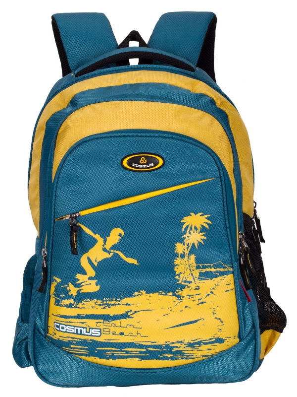 ERNEST Stylist College Backpack Bag - 29L Polyester Daypack - Green
