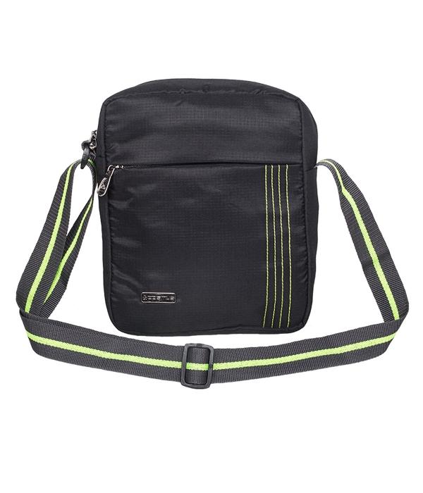 Stitchista Cross Body Sling Bag (Black)