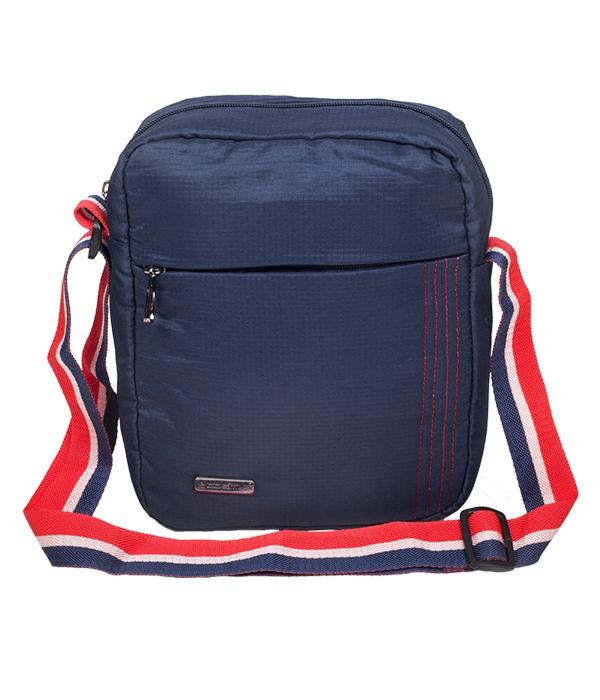 Stitchista Cross Body Sling Bag (Navy Blue)