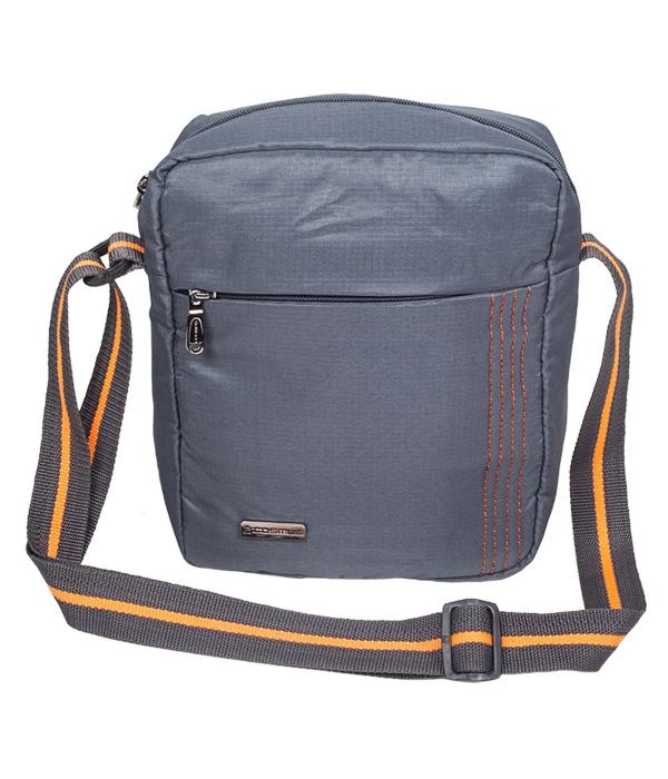 Stitchista Cross Body Sling Bag (Dark Grey)