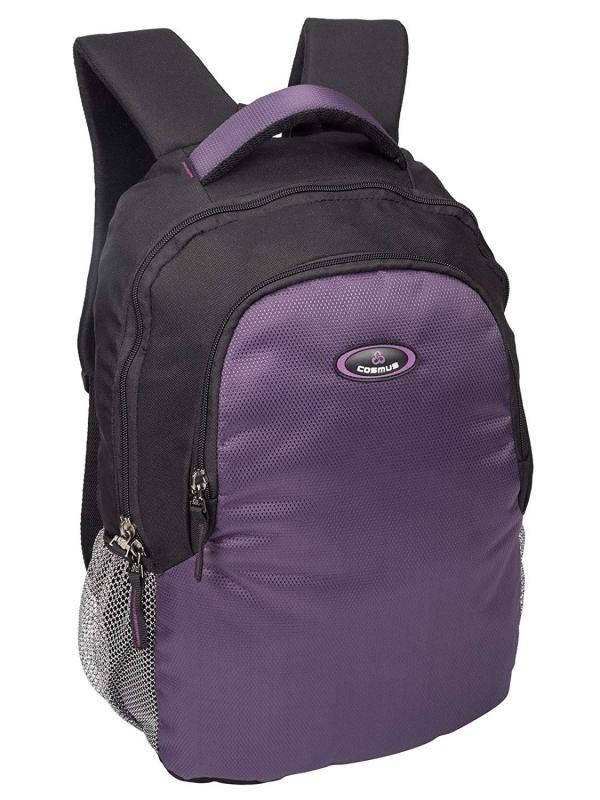 Phoenix Black & Purple Casual Laptop Backpack for 15.6 inch Laptop