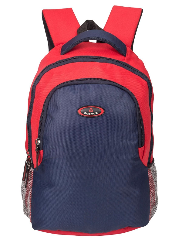 Phoenix Red & Navy Blue Casual Laptop Backpack for 15.6 inch Laptop