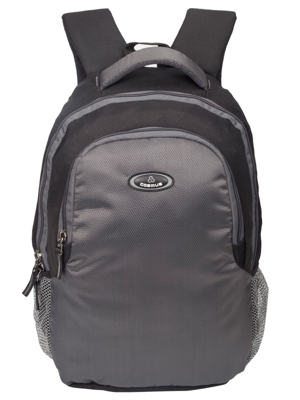 Phoenix Black & Dark Grey Casual Laptop Backpack for 15.6 inch Laptop