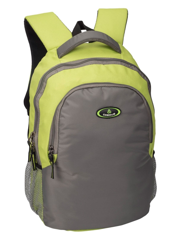 Phoenix Light Green & Light Grey Casual Laptop Backpack for 15.6 inch Laptop