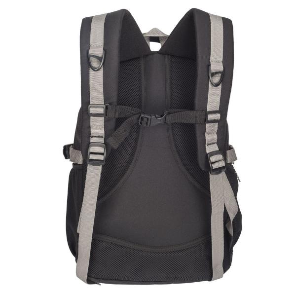 Cosmus Apollo Black & Grey Laptop Backpack