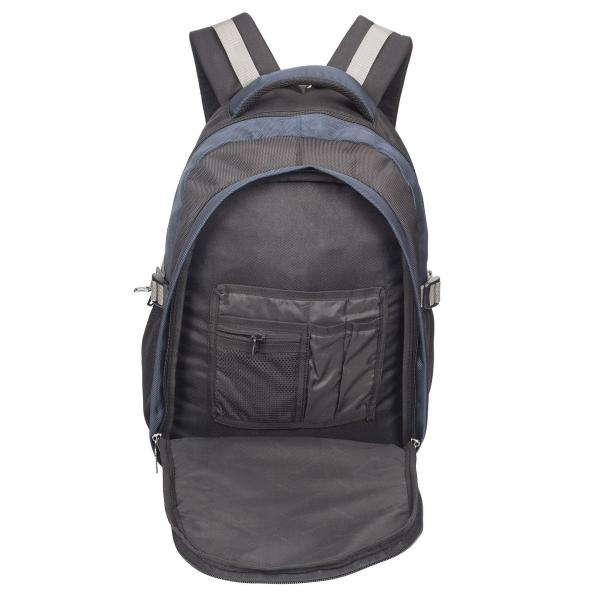 Cosmus Apollo Black & Navy Blue Laptop Backpack