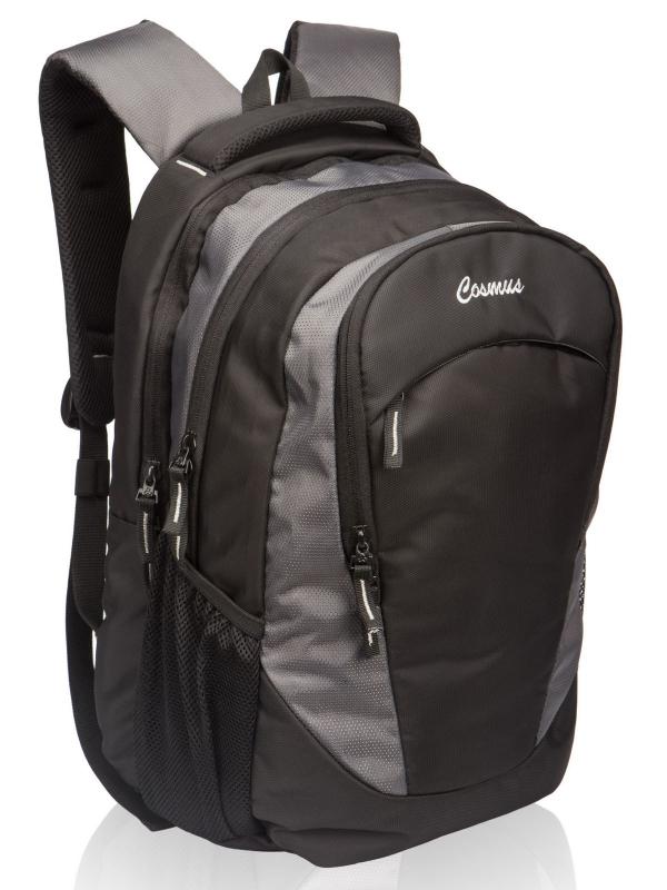 Altis Office Laptop Backpack for 15.6 Inch Laptop (Grey & Black)