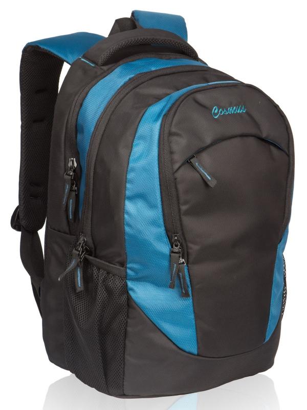 Altis Office Laptop Backpack for 15.6 Inch Laptop (Indigo Blue & Black)