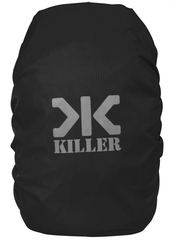 Killer Mini Rain & Dust Cover Black with Pouch for Daypack Backpacks
