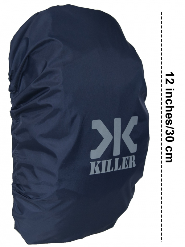 Killer Mini Rain & Dust Cover Navy with Pouch for Daypack Backpacks