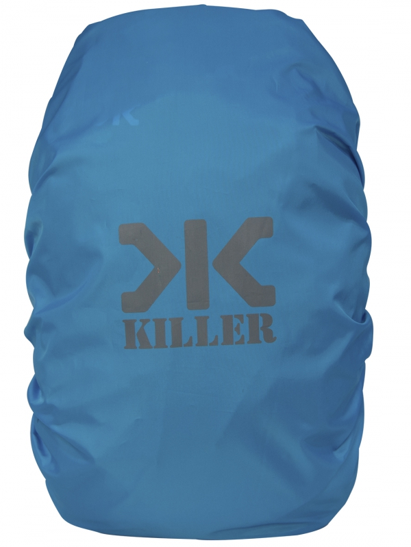 Killer Mini Rain & Dust Cover T. Blue with Pouch for Daypack Backpacks