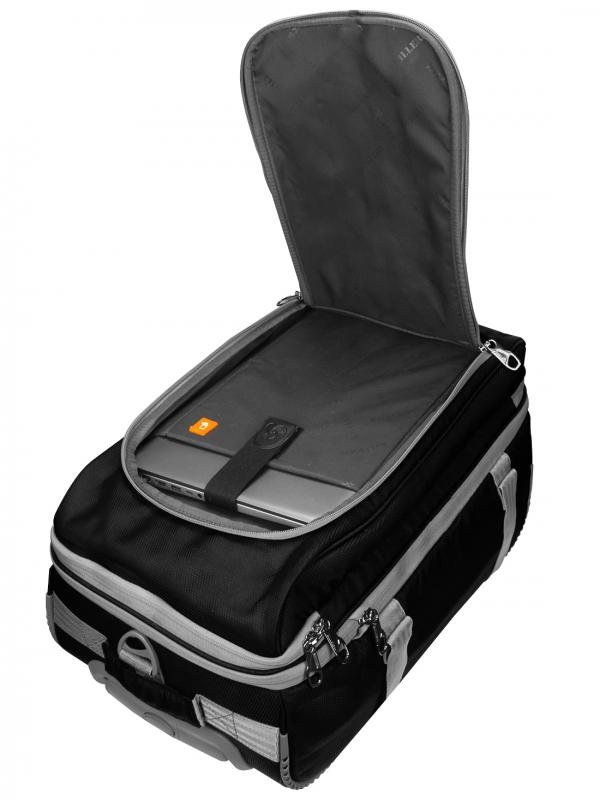 Chevrolet 20Inch Black 55Ltr Laptop Trolley Bag