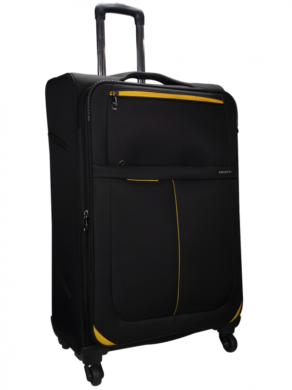 Killer Antarctica 24 Inch Luggage Trolley Bag Black