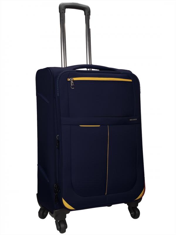 Killer Antarctica 24 Inch Luggage Trolley Bag Navy Blue